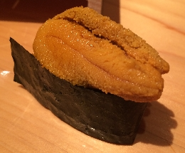 Northern sea urchin (Kitamurasaki uni)