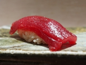 Lean meat of tuna (Akami)