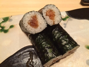 Dried Gourd Shavings Sushi Roll (kanpyo-maki)