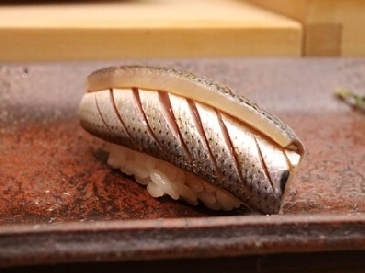 A photo of kohada sushi