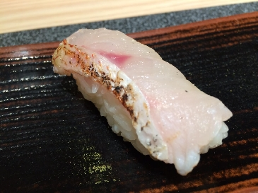 A photo of nodoguro sushi