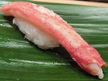 A photo of zuwaigani sushi