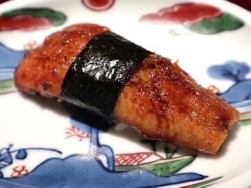 A photo of Unagi sushi