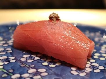 A photo of  Mebachi maguro sushi